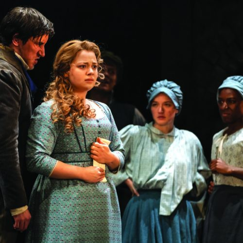 Carrie Hope Fletcher As Fantine And Company In Les Misérables Photograph Johan Persson