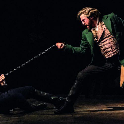 Jon Robyns As Jean Valjean And Bradley Jaden As Javert In Les Misérables Photograph Johan Persson