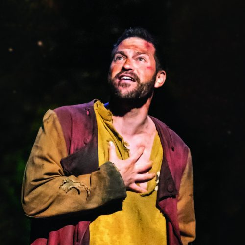 Jon Robyns As Jean Valjean In Les Misérables Photograph Johan Persson
