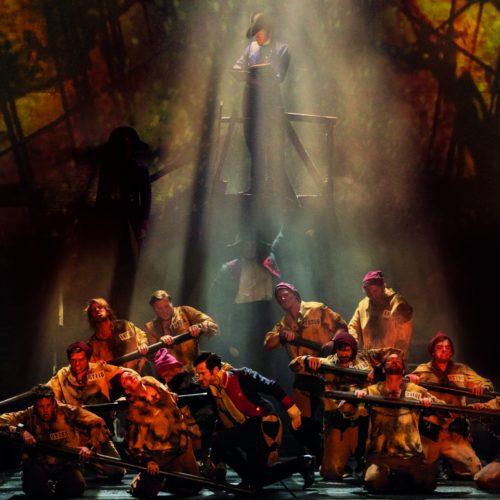 The Company Of Les Misérables Photograph Michael Le Poer Trench
